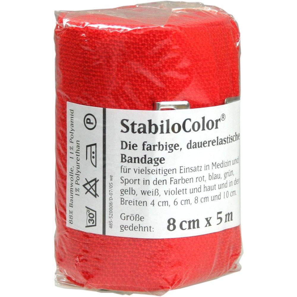 BORT StabiloColor Binde 8cm rot