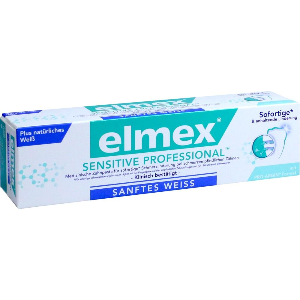 08839506, elmex SENSITIVE PROFESSIONAL plus Sanft. Zahnweiss, 75 ML