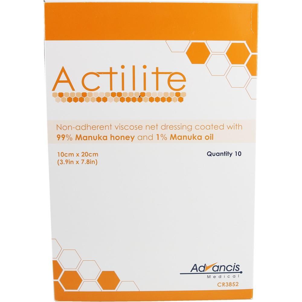 08840308, Actilite 10x20cm HONIG-WUNDAUFLAGE, 10 ST
