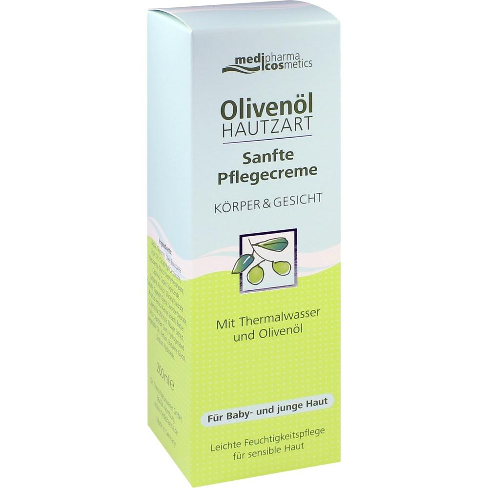 08849226, Olivenöl Hautzart Sanfte Pflegecreme, 200 ML
