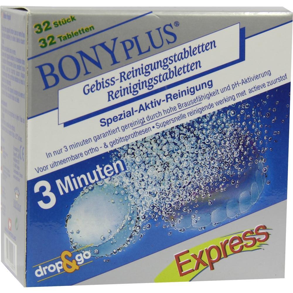 08857987, BonyPlus Reinigungsbrausetabletten, 32 ST