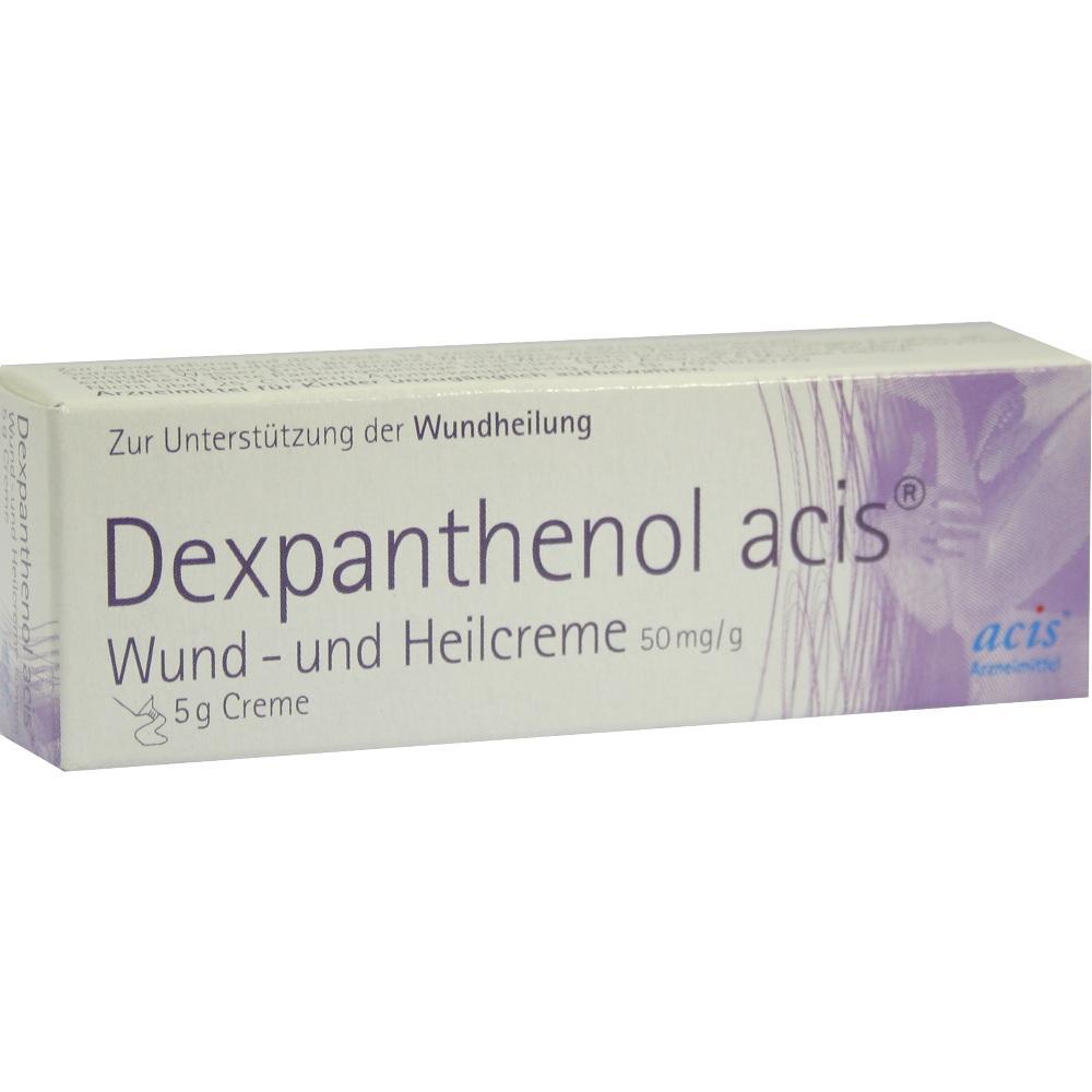 08862758, Dexpanthenol acis Wund-und Heilcreme, 5 G