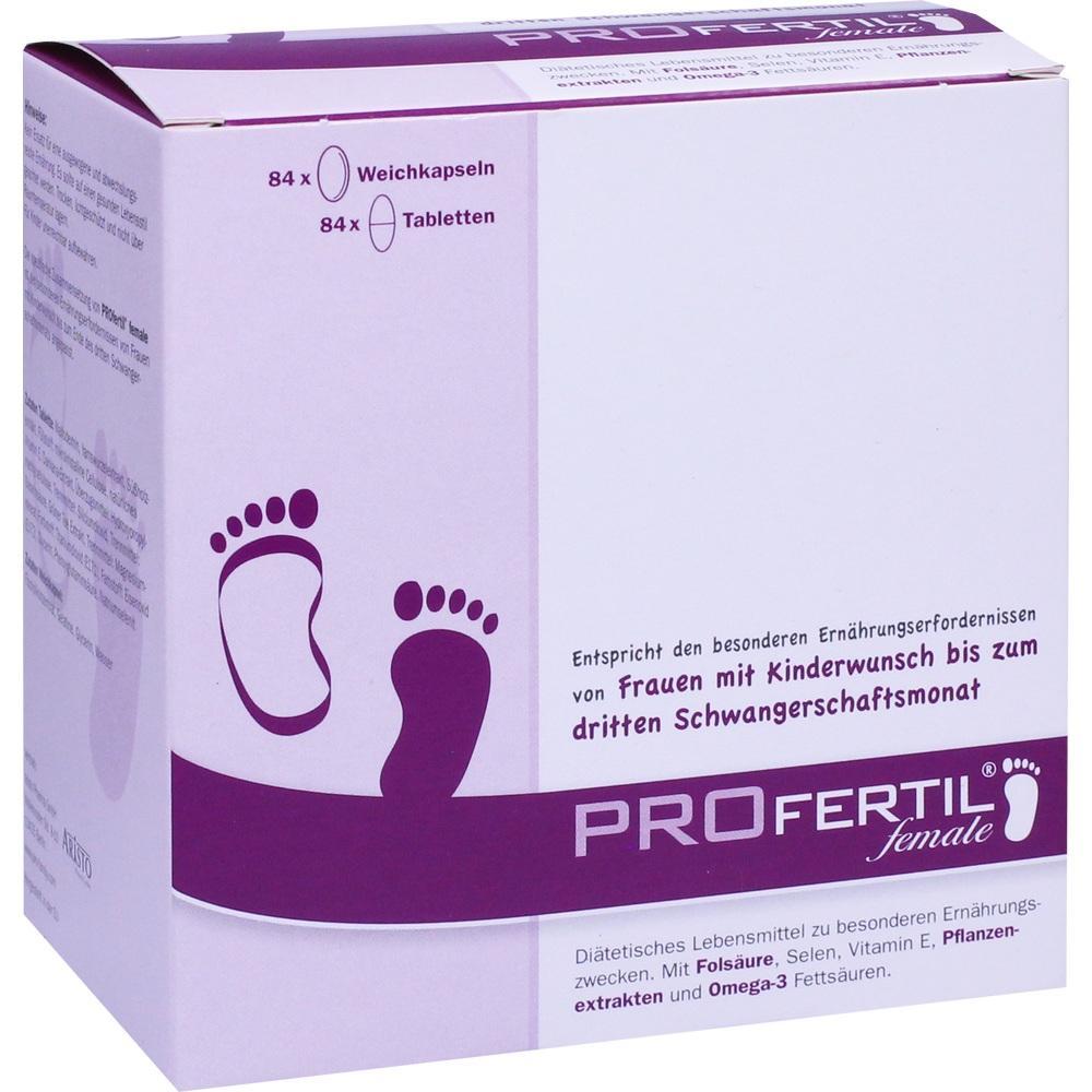 08867520, PROfertil female Tbl/Kps Kombipckg 3 Monate, 1 ST