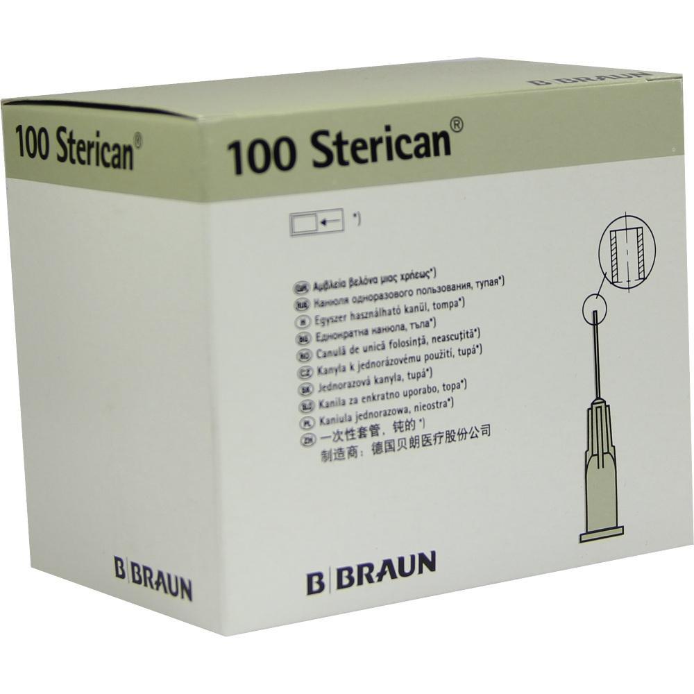 STERICAN Kanülen 27 G 25x0,40 mm stumpf