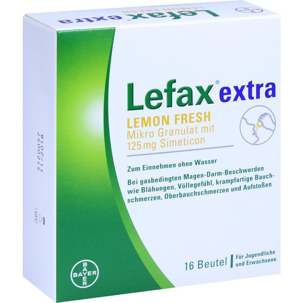 09013180, Lefax extra Lemon Fresh, 16 ST