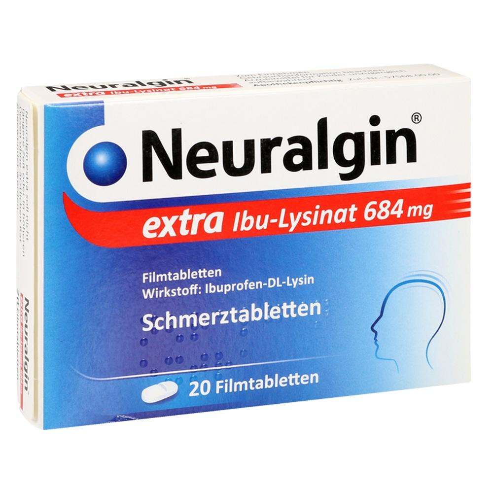 09042974, Neuralgin extra Ibu-Lysinat, 20 ST