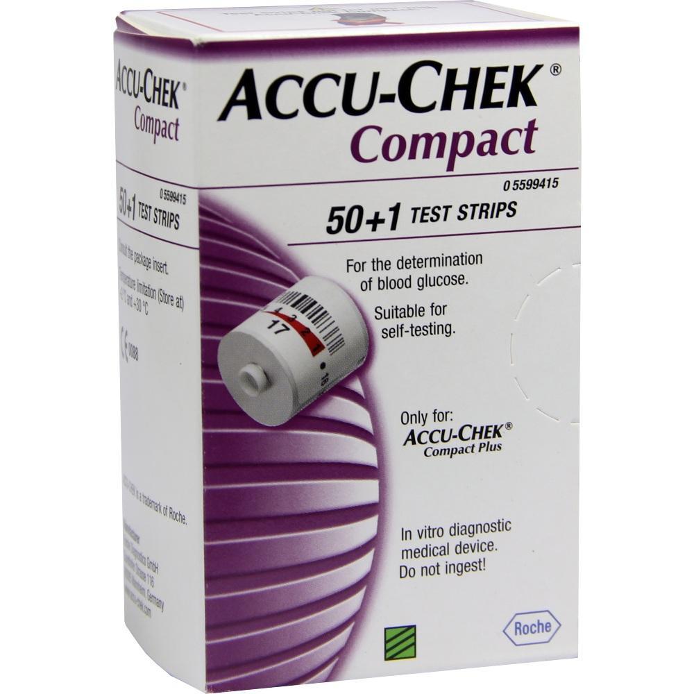 ACCU CHEK Compact Teststreifen