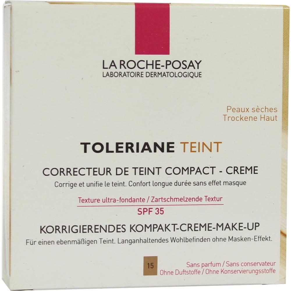 09074862, Roche-Posay Toleriane Teint Compact Cr. 15/R, 9 G