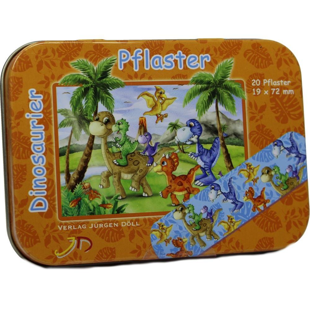09077990, KINDERPFLASTER DINOSAURIER - DOSE, 20 ST
