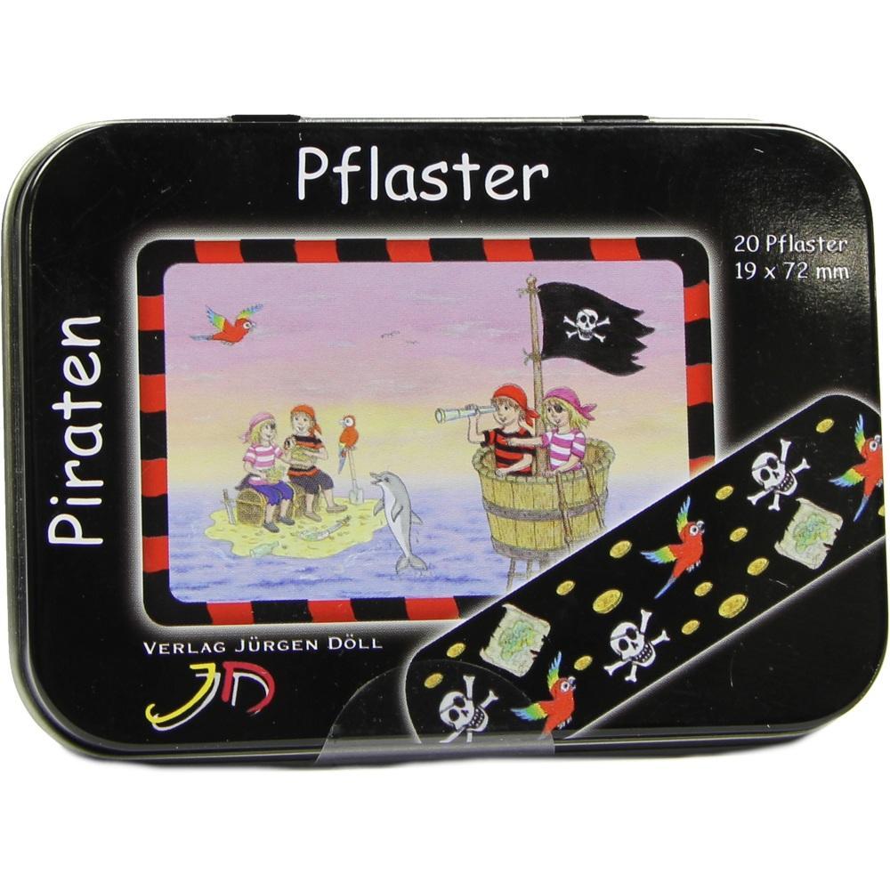 09078038, KINDERPFLASTER PIRATEN - DOSE, 20 ST