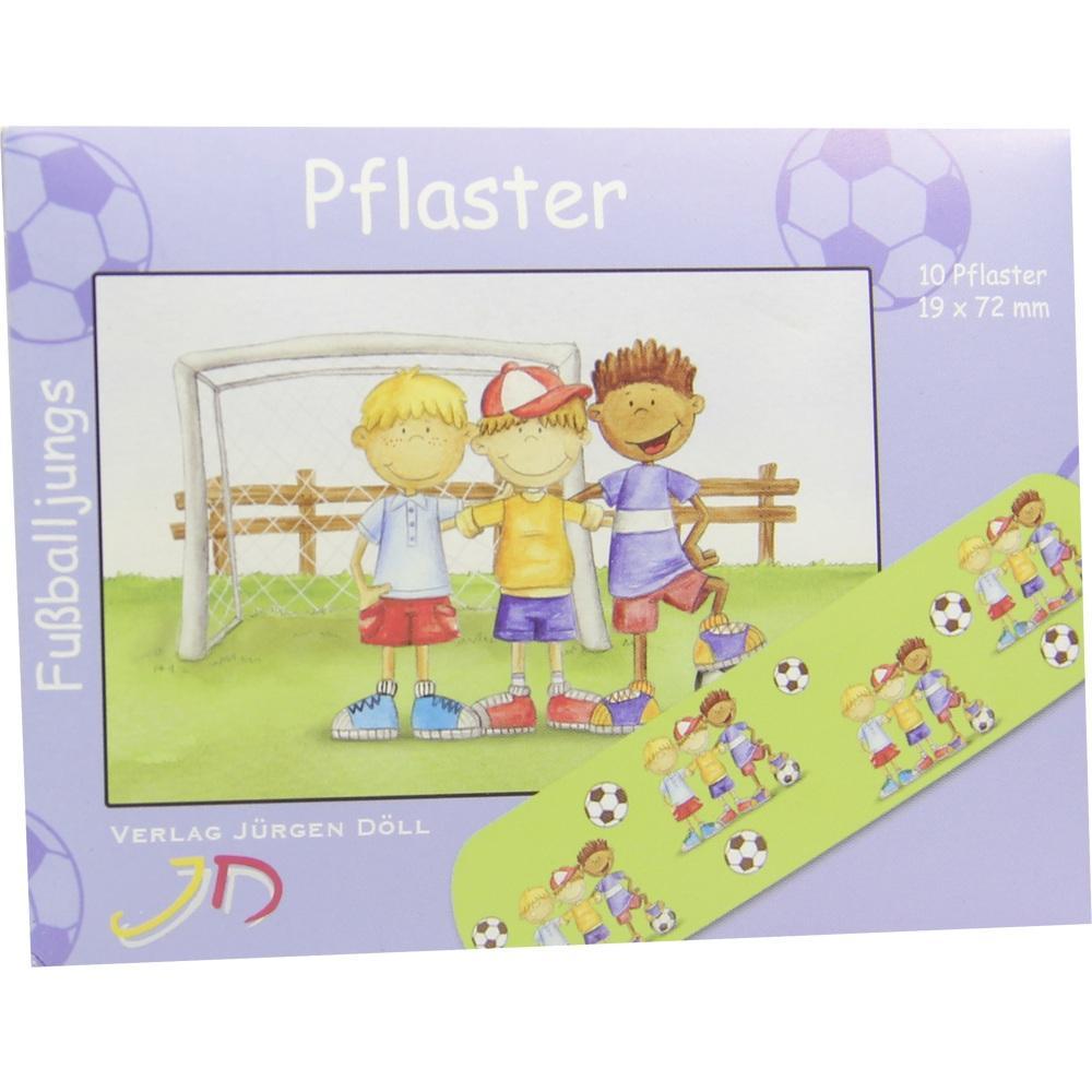 09078104, KINDERPFLASTER FUSSBALLJUNGS - BRIEFCHEN, 10 ST