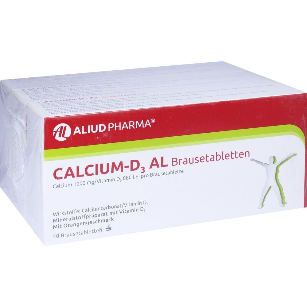 09089208, Calcium-D3 AL Brausetabletten, 120 ST