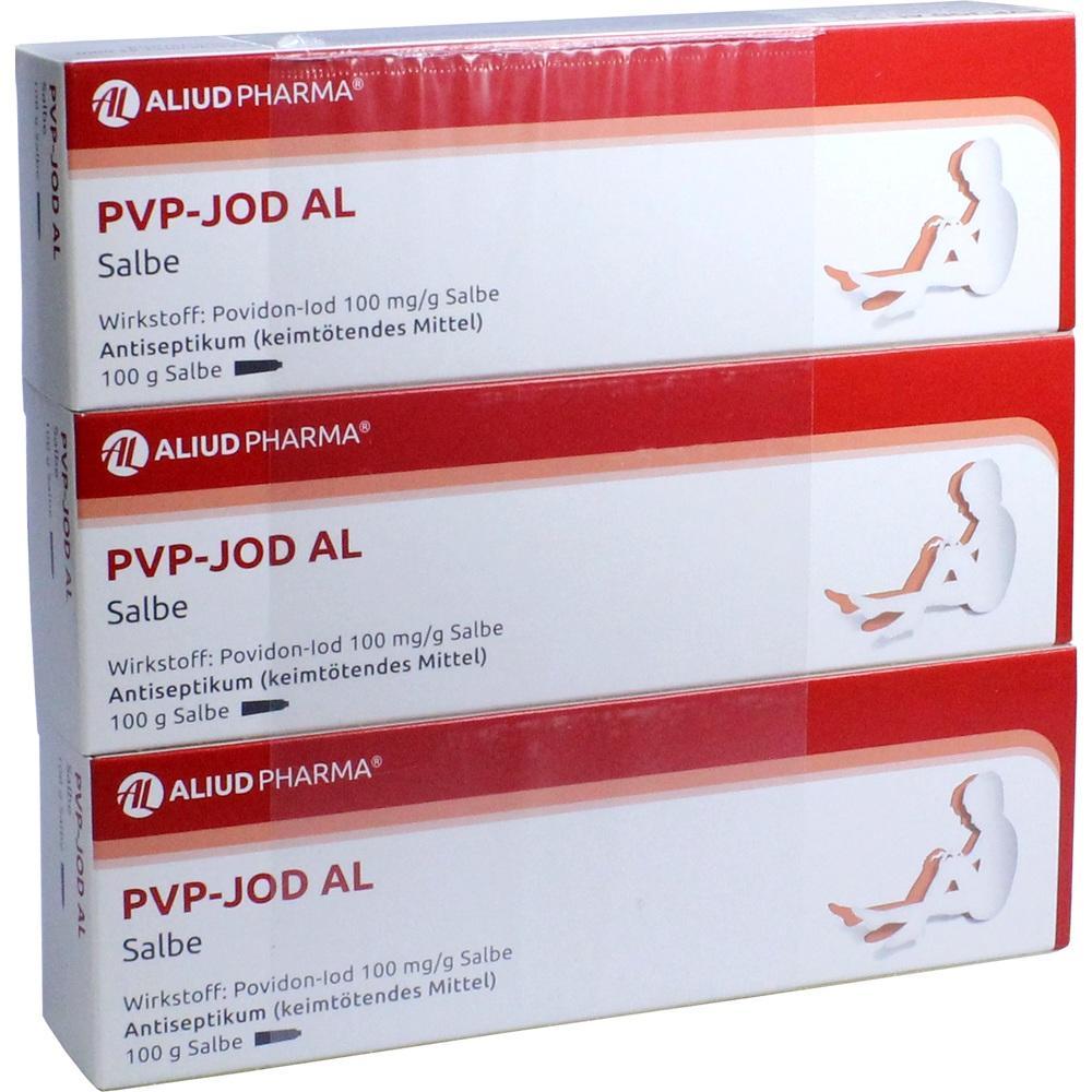 09089214, PVP-Jod AL Salbe, 300 G