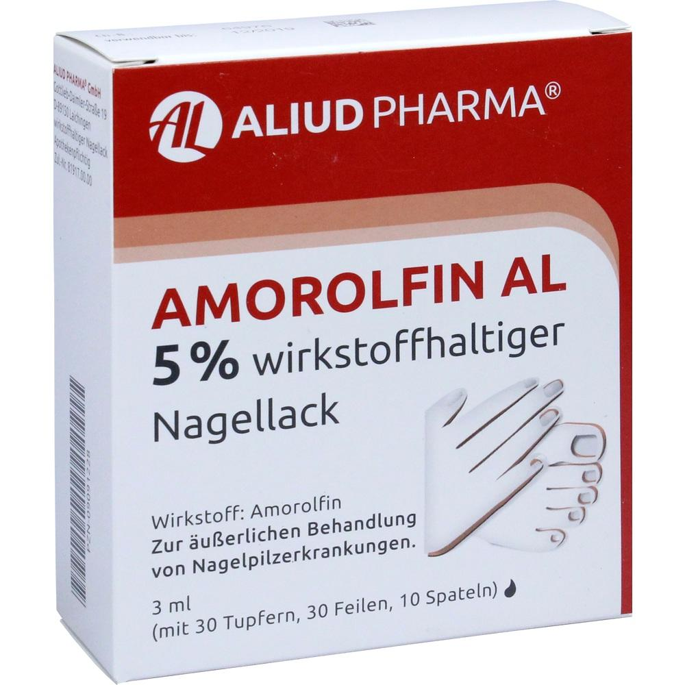 09091228, Amorolfin AL 5 % wirkstoffhaltiger Nagellack, 3 ML