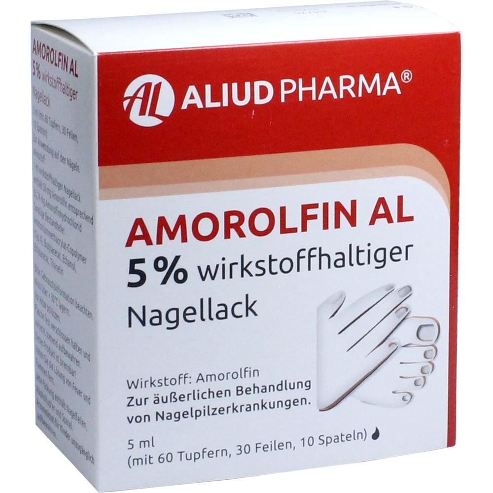 09091234, Amorolfin AL 5 % wirkstoffhaltiger Nagellack, 5 ML