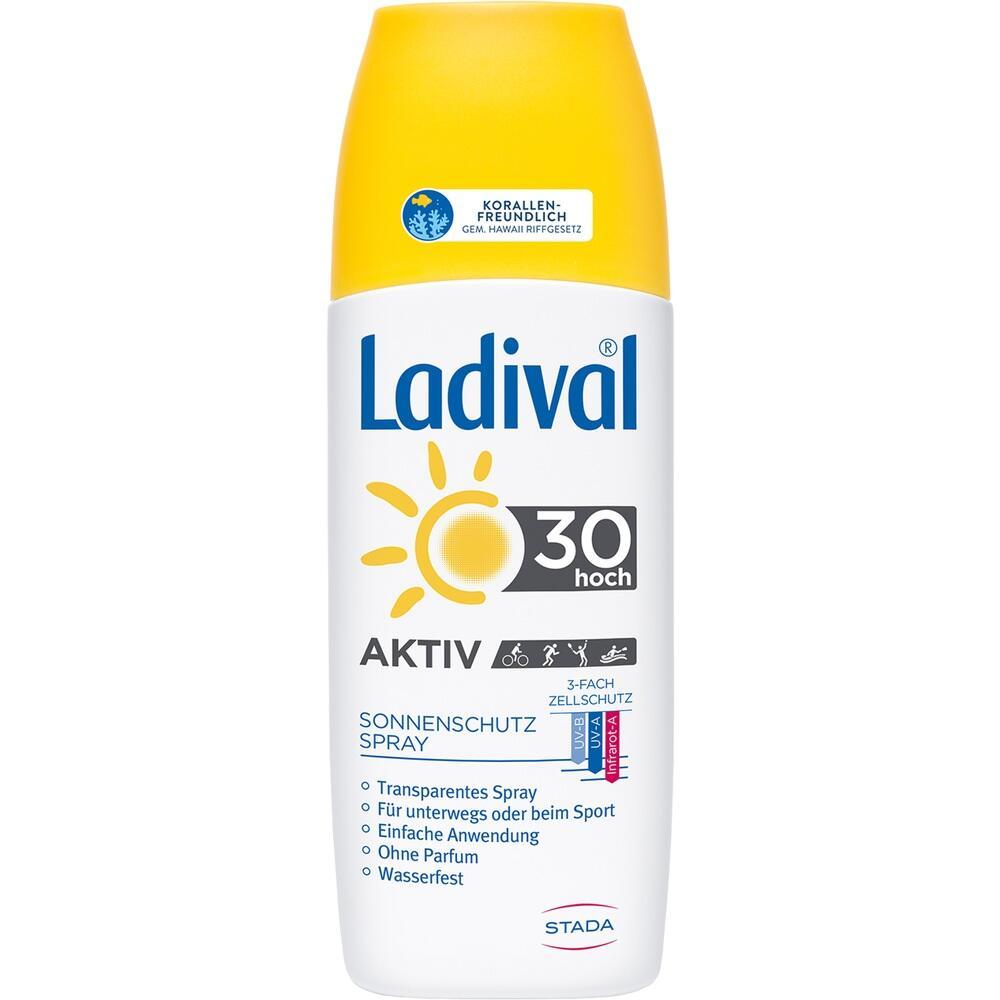 09098331, Ladival Sonnenschutz Spray LSF 30, 150 ML
