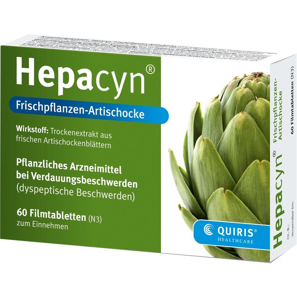09155661, Hepacyn Frischpflanzen-Artischocke, 120 ST
