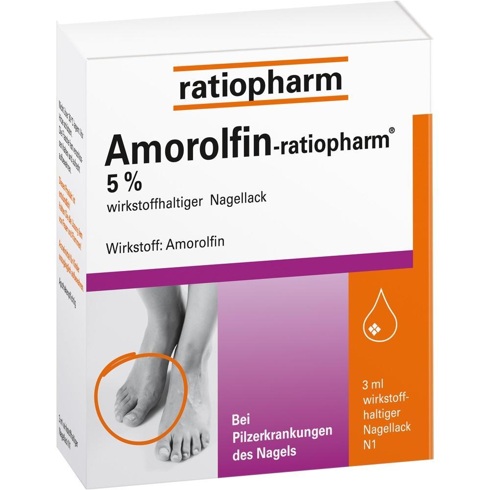 09199173, Amorolfin-ratiopharm 5% wirkstoffh. Nagellack, 3 ML