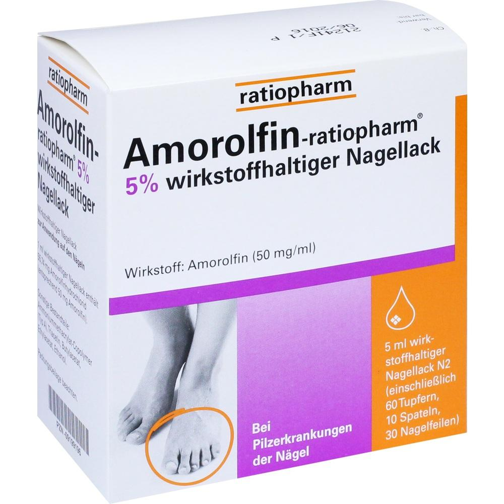 09199196, Amorolfin-ratiopharm 5% wirkstoffh. Nagellack, 5 ML