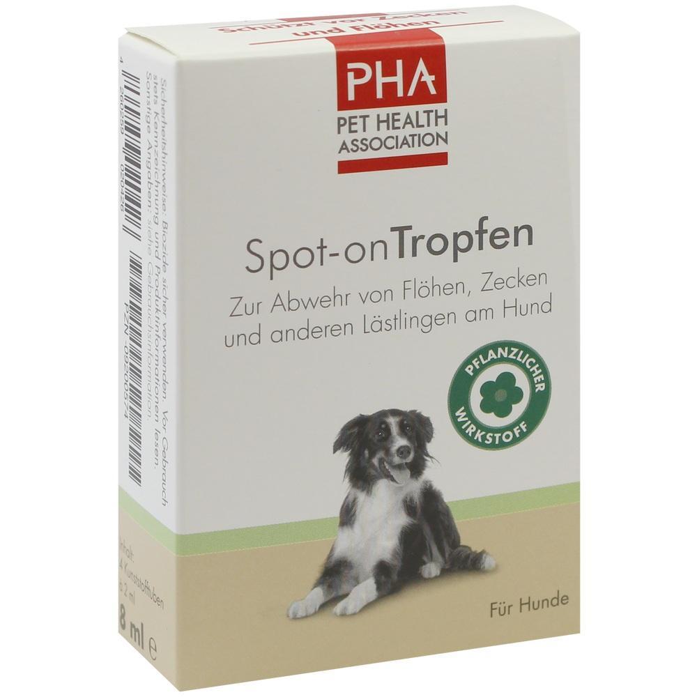 09200574, PHA SpotOn Tropfen für Hunde, 4X2 ML