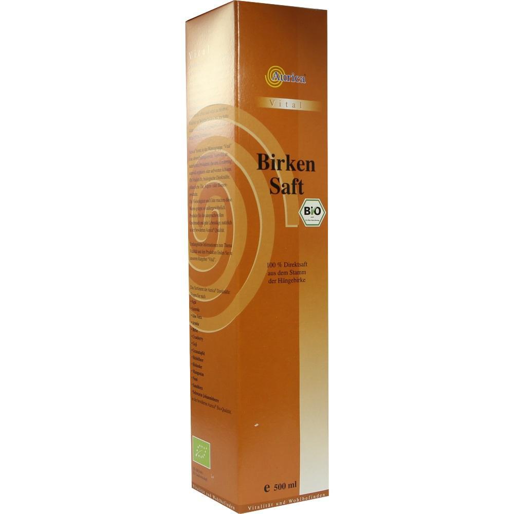 09213708, Birkensaft 100% Bio, 500 ML