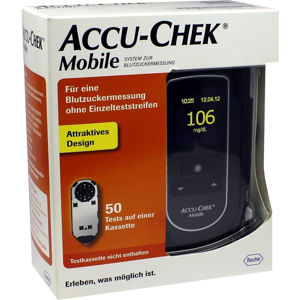 09233214, Accu-Chek Mobile Set mg/dl III, 1 ST