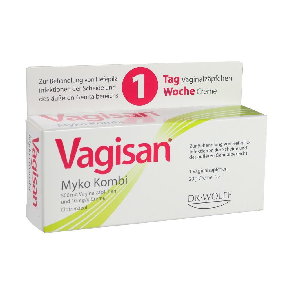 09235710, Vagisan Myko Kombi (1-Tagestherapie), 1 P