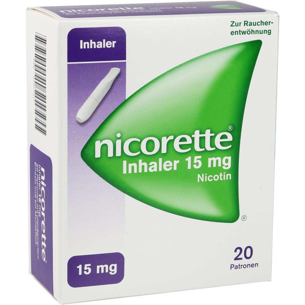 09267911, Nicorette Inhaler 15mg, 20 ST