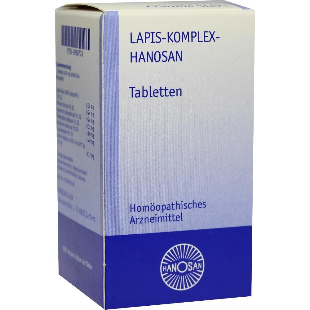 LAPIS KOMPLEX Hanosan Tabletten