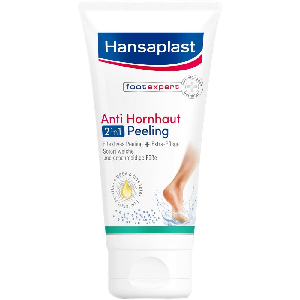09280840, Hansaplast Anti-Hornhaut Peeling 2in1 Foot Expert, 75 ML