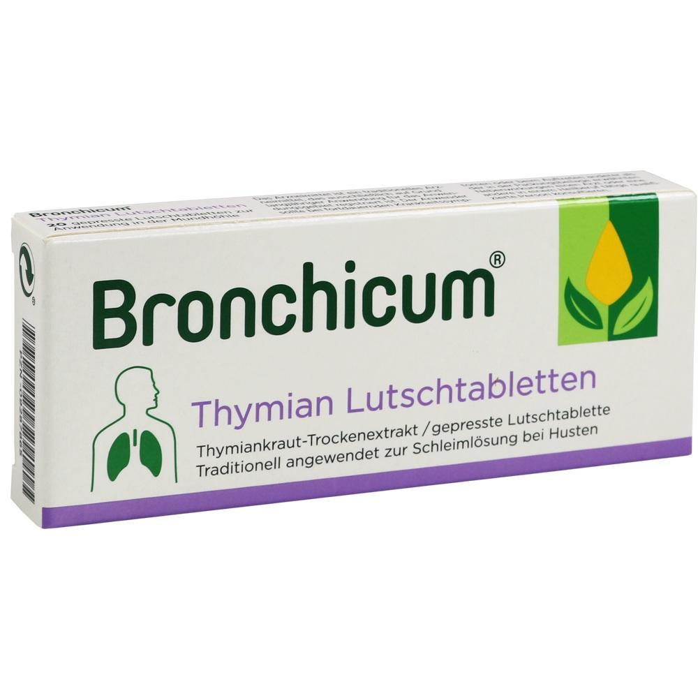 09287865, Bronchicum Thymian Lutschtabletten, 20 ST