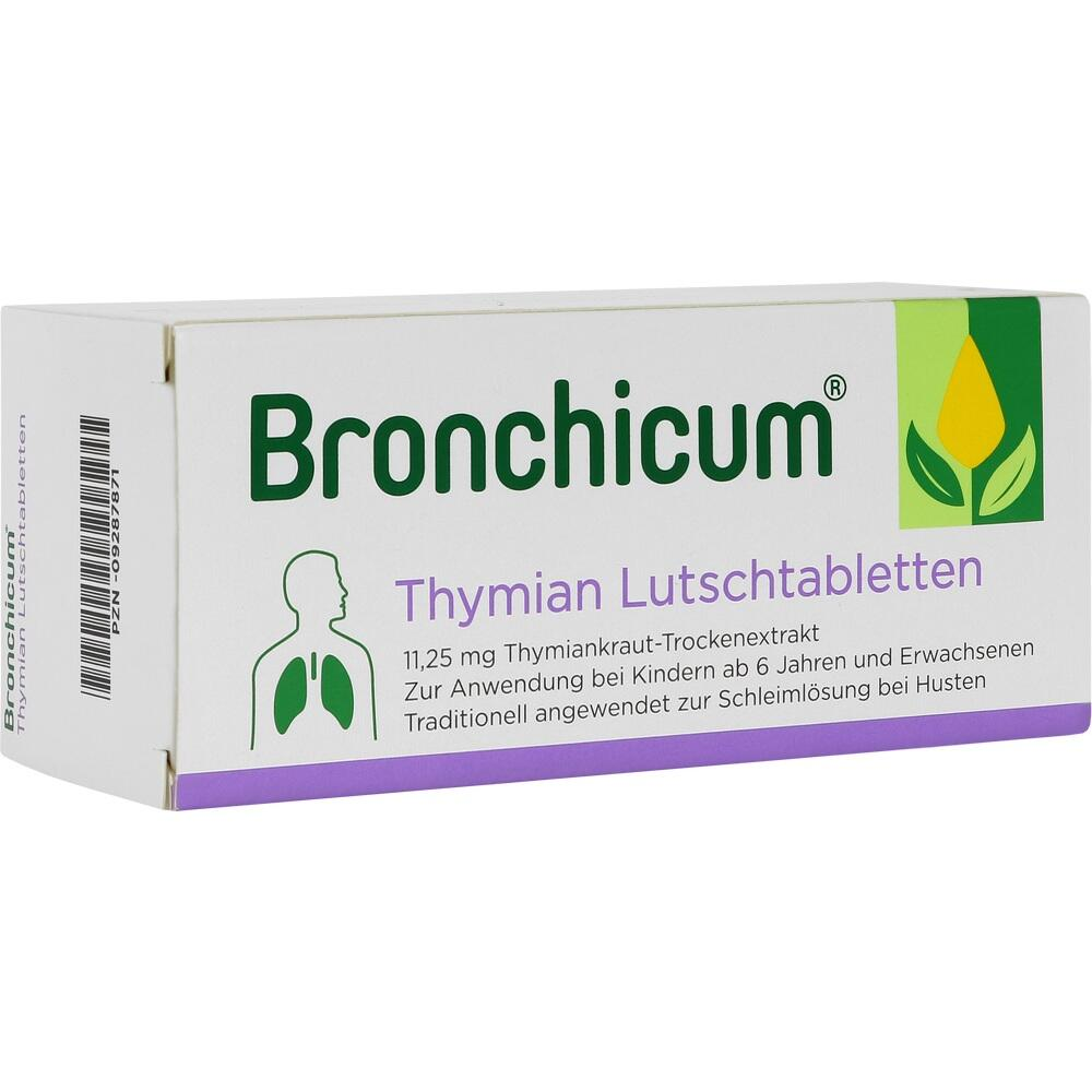 09287871, Bronchicum Thymian Lutschtabletten, 50 ST
