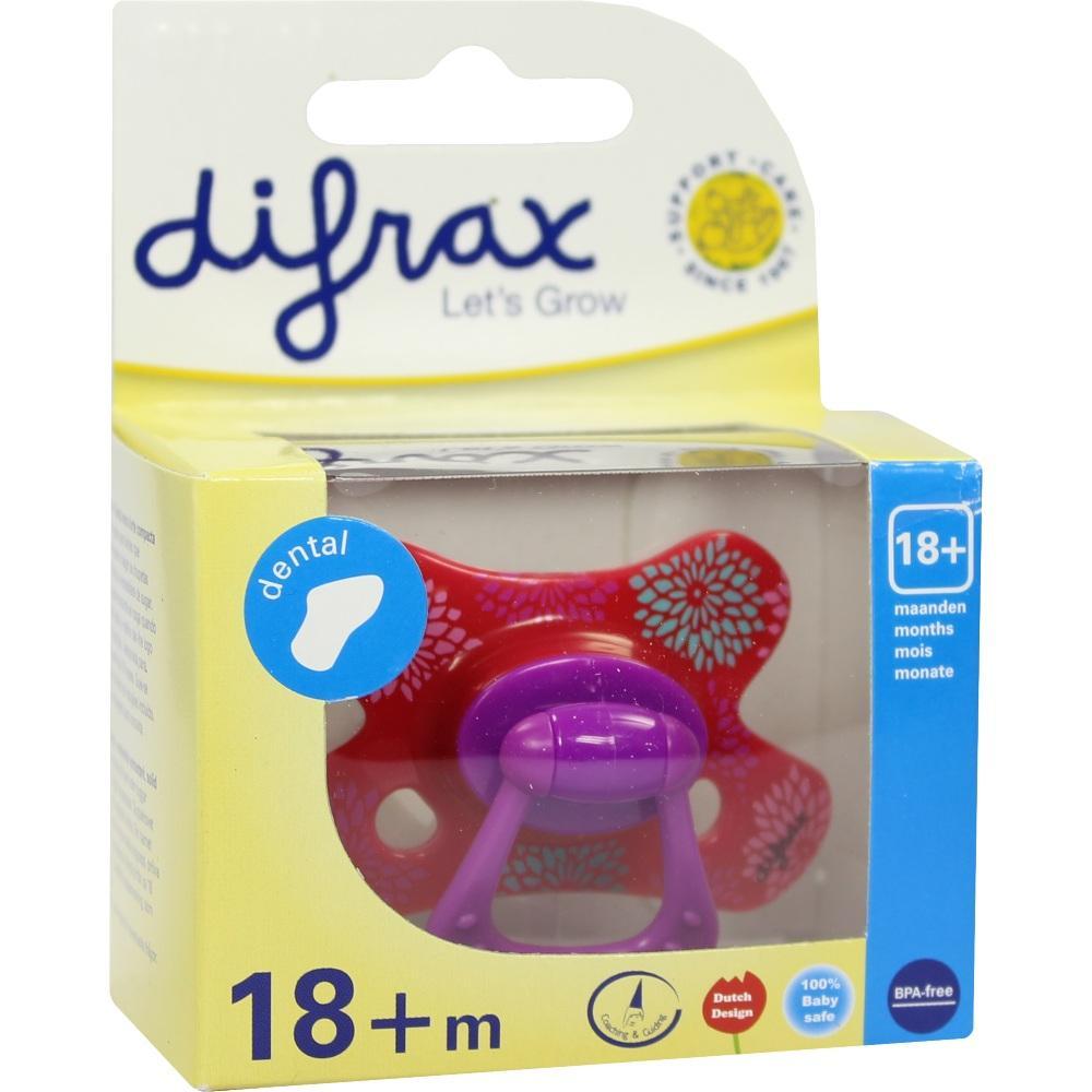09290956, Difrax Schnuller dental 18+M, 1 ST