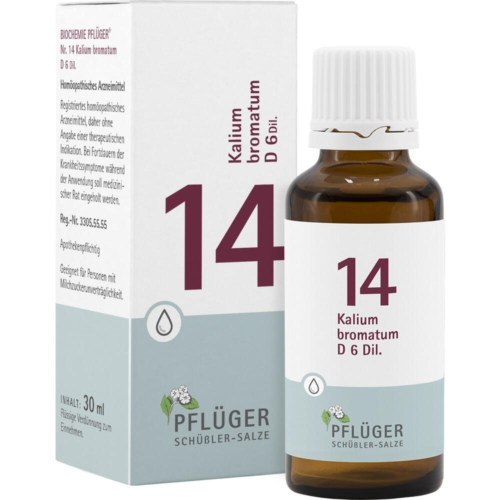 09298484, Biochemie Pflüger NR. 14 Kalium bromatum D 6, 30 ML
