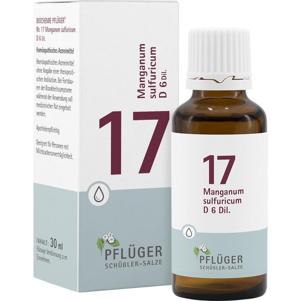 09298573, Biochemie Pflüger NR. 17 Manganum sulf. D 6, 30 ML