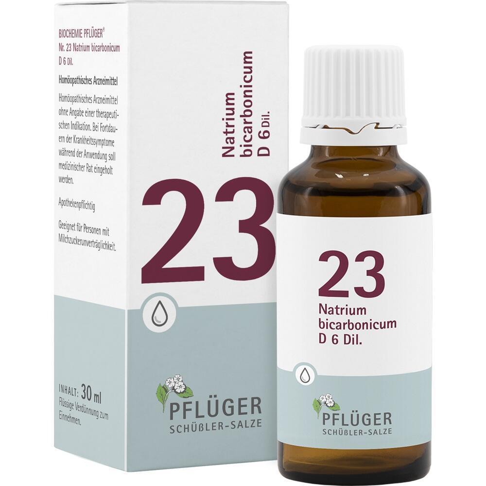 09298716, Biochemie Pflüger NR. 23 Natrium bicarb. D 6, 30 ML
