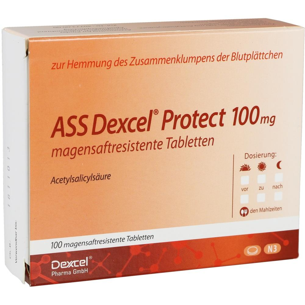 09318809, ASS Dexcel Protect 100mg, 100 ST
