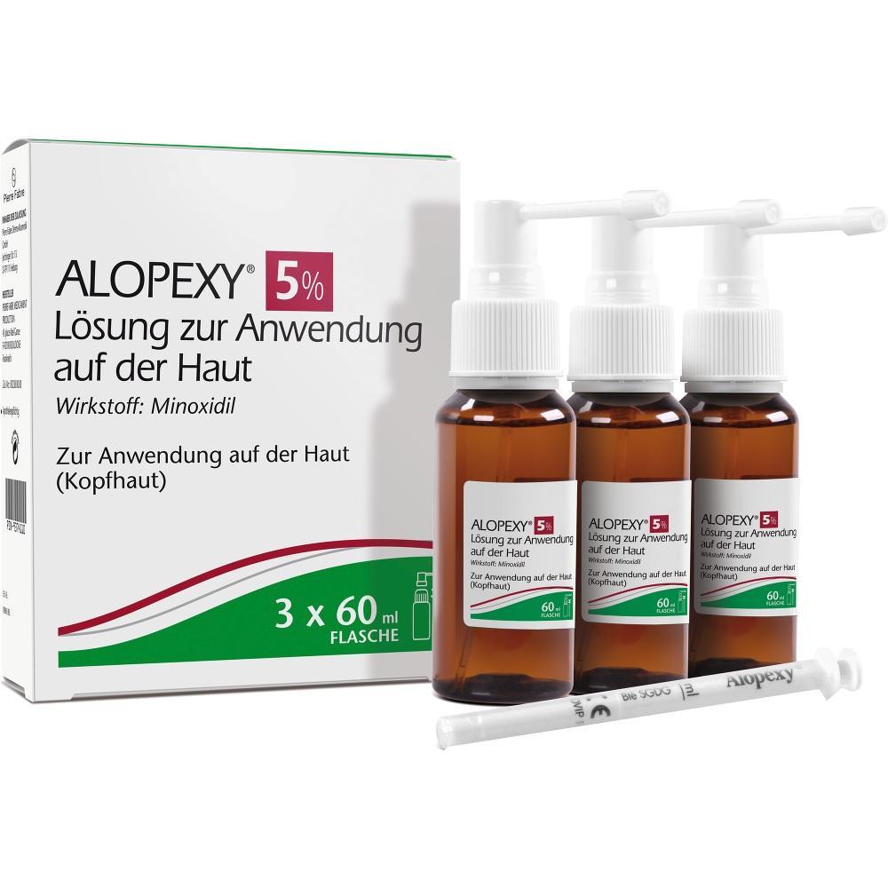 09374110, ALOPEXY 5% Lösung zur Anwendung auf der Haut, 3X60 ML