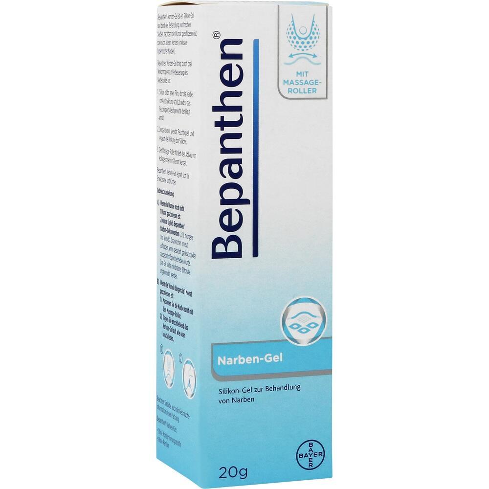 09461168, Bepanthen Narben-Gel mit Massage-Roller, 20 G