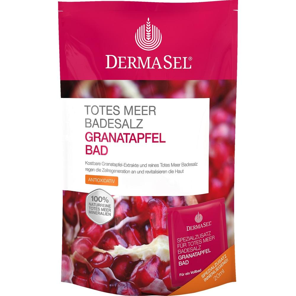 09480734, DermaSel Totes Meer Badesalz + Granatapfel SPA, 1 P