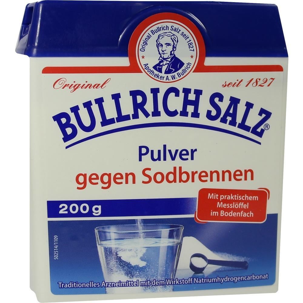 09504653, Bullrich Salz Pulver, 200 G