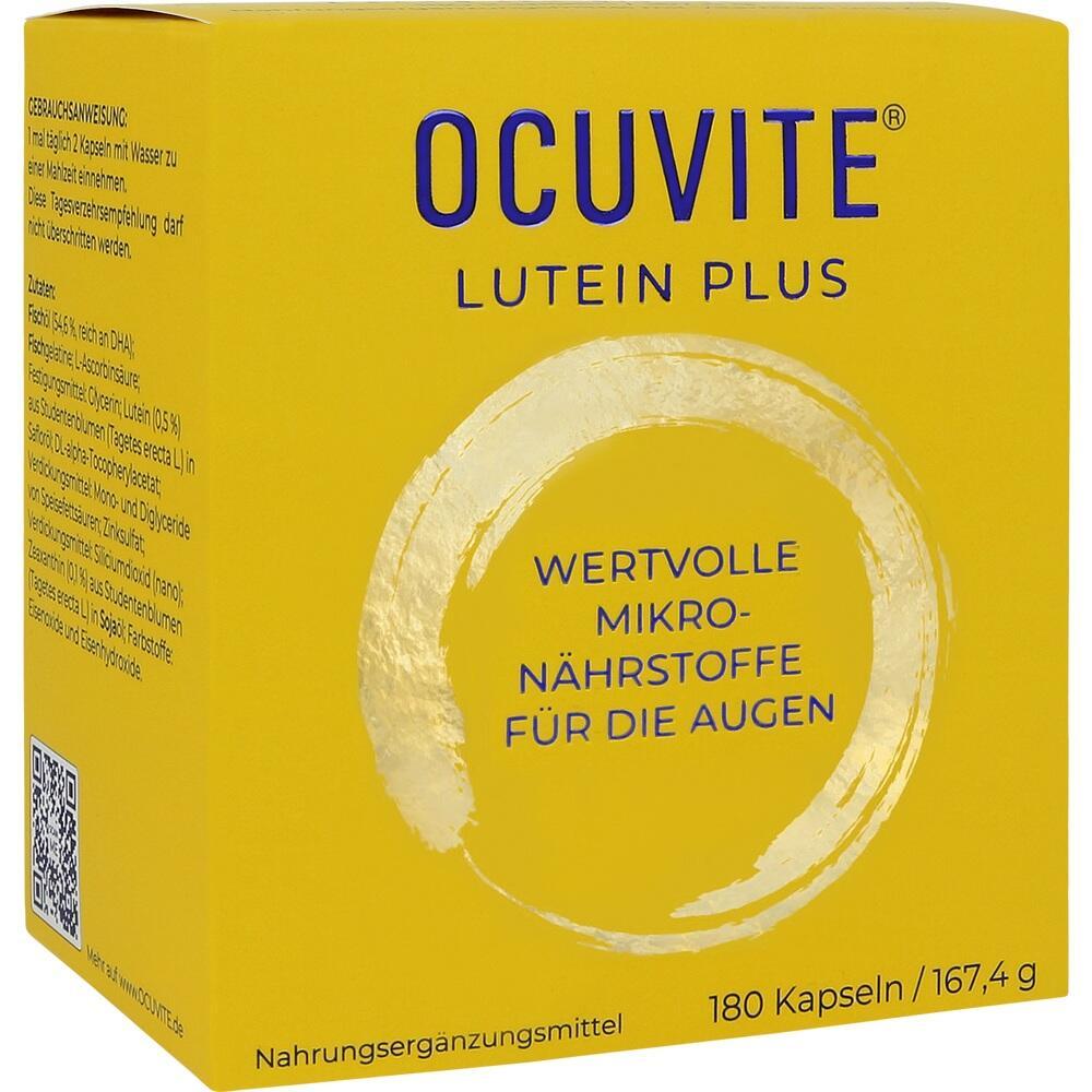 09526620, Ocuvite Lutein Plus, 180 ST
