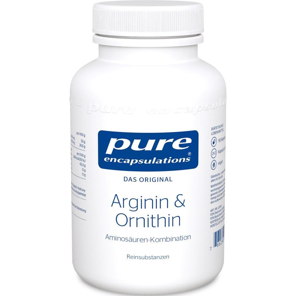 09528197, PURE ENCAPSULATIONS Arginin + Ornithin, 90 ST