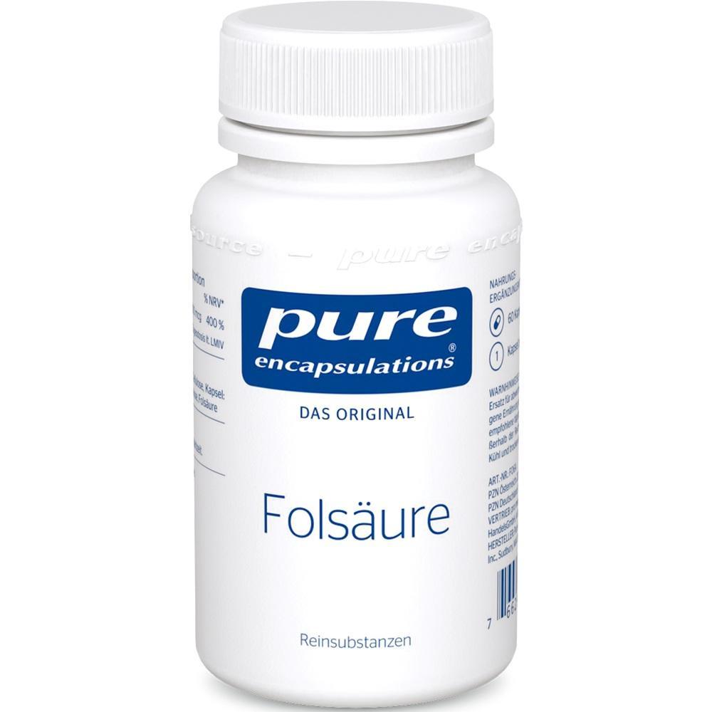 09528205, PURE ENCAPSULATIONS Folsäure, 60 ST