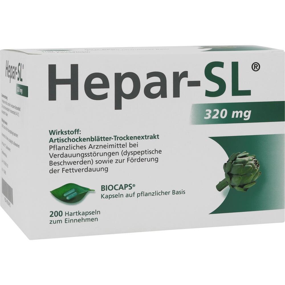 09530455, Hepar-SL 320mg Hartkapseln, 200 ST