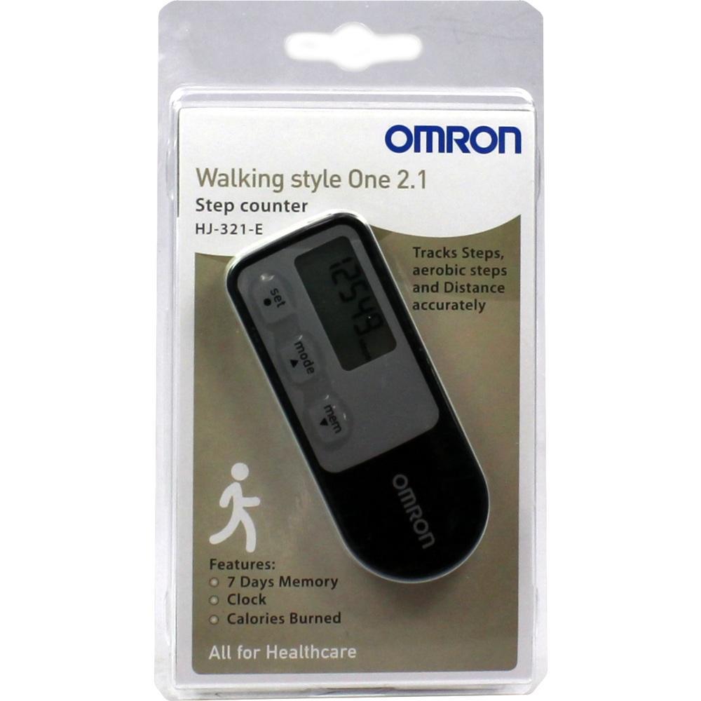 09534200, OMRON Schrittzähler HJ-321-E Walking Style One 2.1, 1 ST