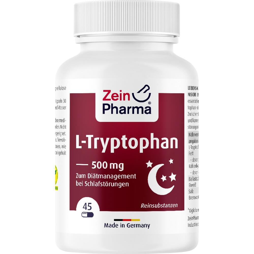 09542731, L-Tryptophan 500mg aus Fermentation, 45 ST