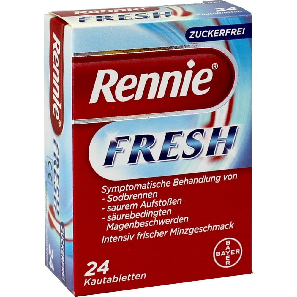 09543481, RENNIE Fresh Kautabletten, 24 ST