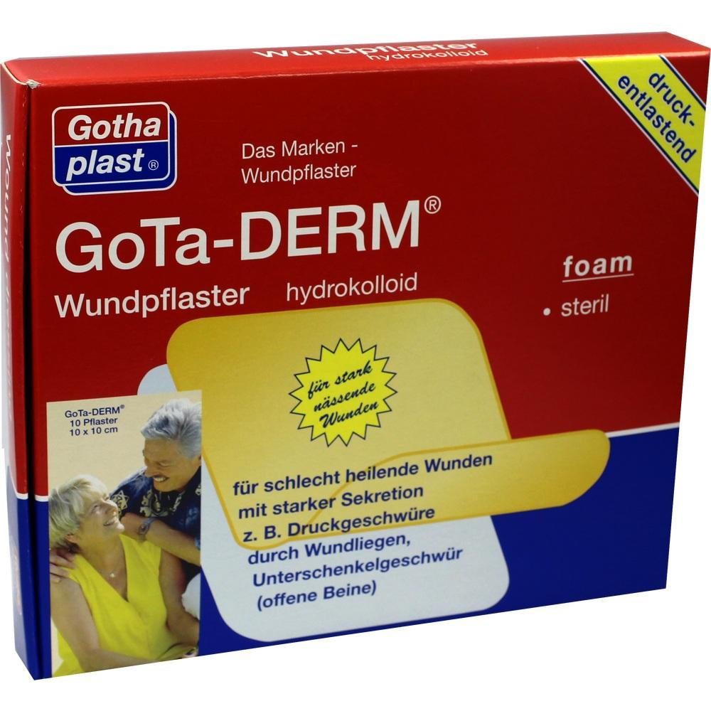 GOTA DERM foam Wundpfl.hydrokolloid ster.10x10 cm