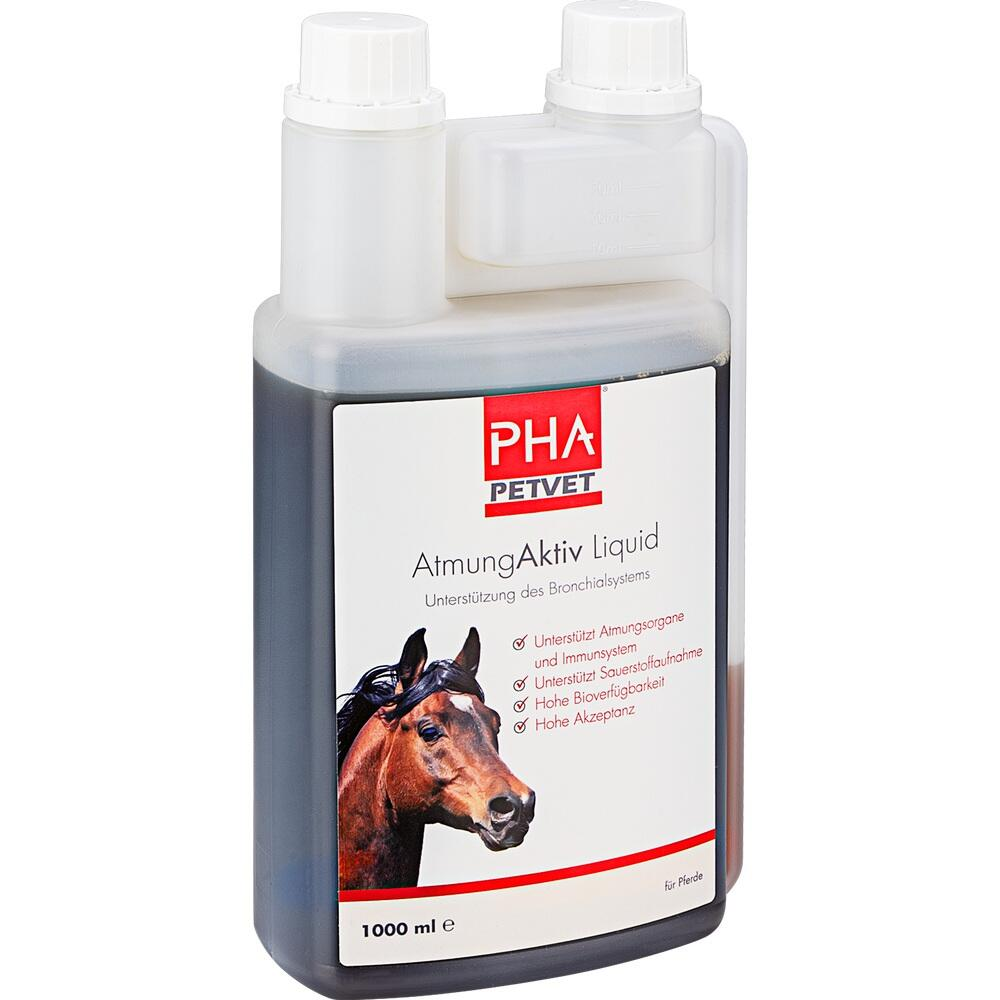 09670624, PHA AtmungAktiv Liquid für Pferde, 1000 ML